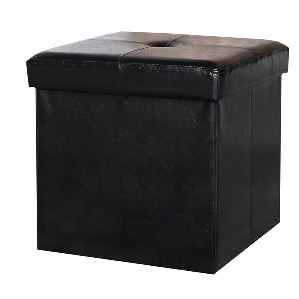 Collapsible Storage Ottoman by Fresh Ideas