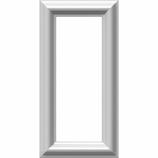 Ashford 16H x 8W x 1/2D Molded Classic Wainscot Wall Panel by Ekena Millwork