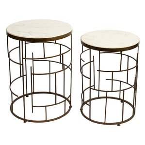 Kendal 2 Piece End Table Set by Mercer41