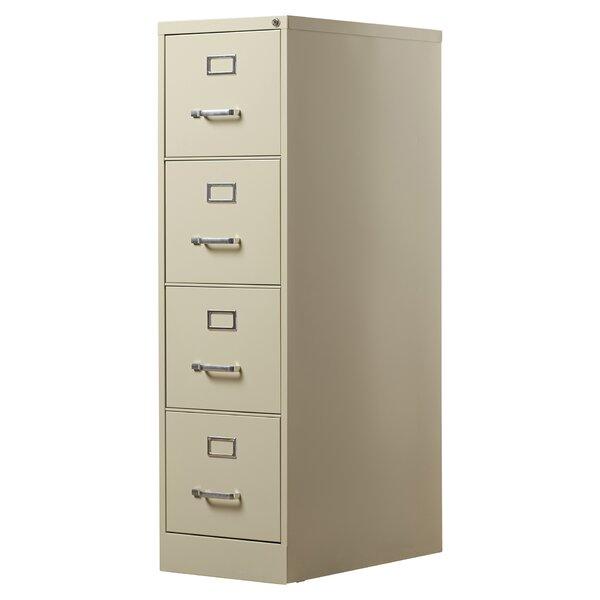 Kane 4 Drawer Commercial Letter Size File Cabinet by Brayden Studio
