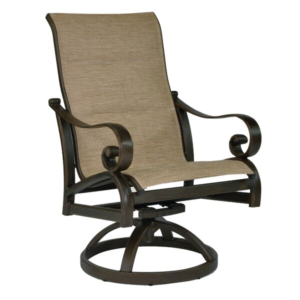 Veracruz Sling Swivel Rocking Chair by Leona