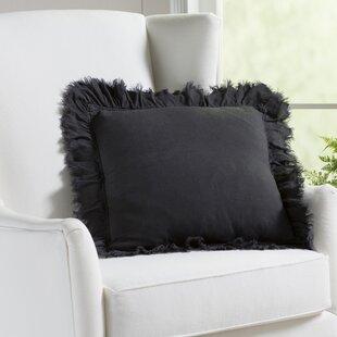 Gordonia Fringed Linen Pillow