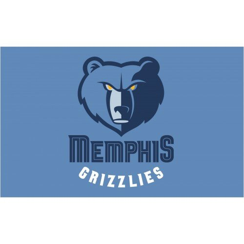 NBA Memphis Grizzles Polyester 3 x 5 ft. Flag by NeoPlex