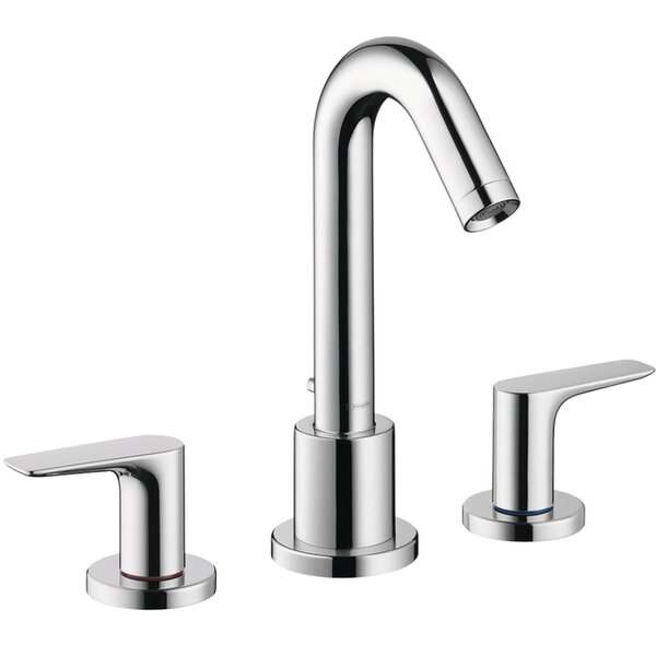Logis Double Handle Deck Mounted Tub Faucet by Hansgrohe