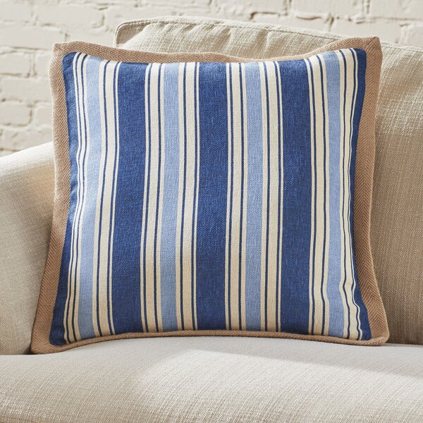 Clarion Jute Trim Pillow Cover by Birch Lane™