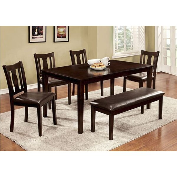 Delancey 6 Piece Extendable Dining Set by Alcott Hill