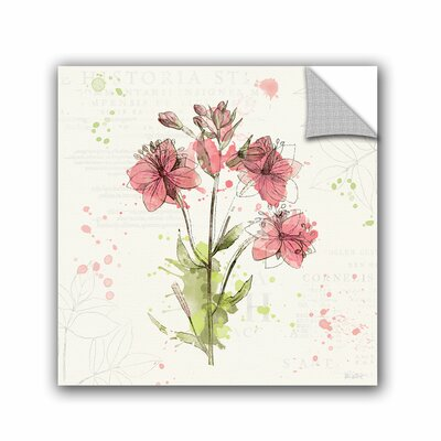 """Attwood Floral Splash V Removable Wall Decal Lark Manor Size: 18"""" H x 18"""" W x 0.1"""" D"""