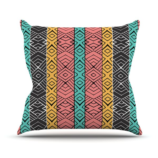 Artisian by Pom Graphic Design Outdoor Throw Pillow by East Urban Home