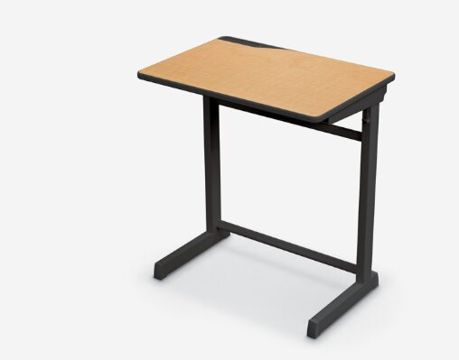 Manufactured Wood 29 Collaborative Desk by MooreCo