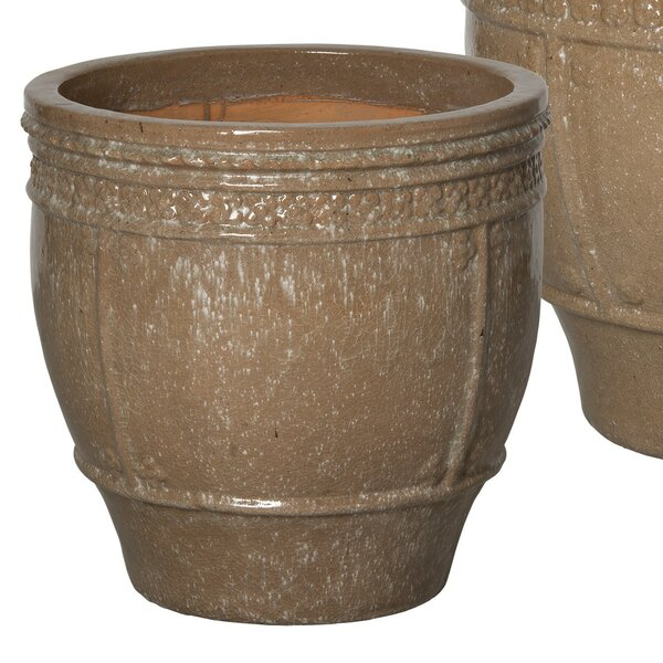 William Street Ceramic Pot Planter by Ophelia & Co.