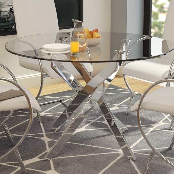 #1 Felisha Dining Table By Orren Ellis Wonderful