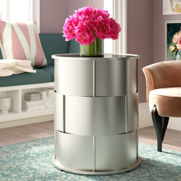 Aleksei End Table by Willa Arlo Interiors