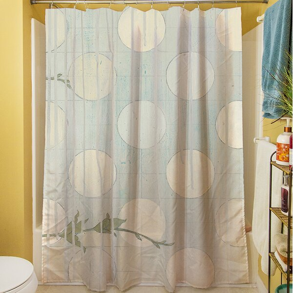 Summer Vine III Shower Curtain by Manual Woodworkers & Weavers