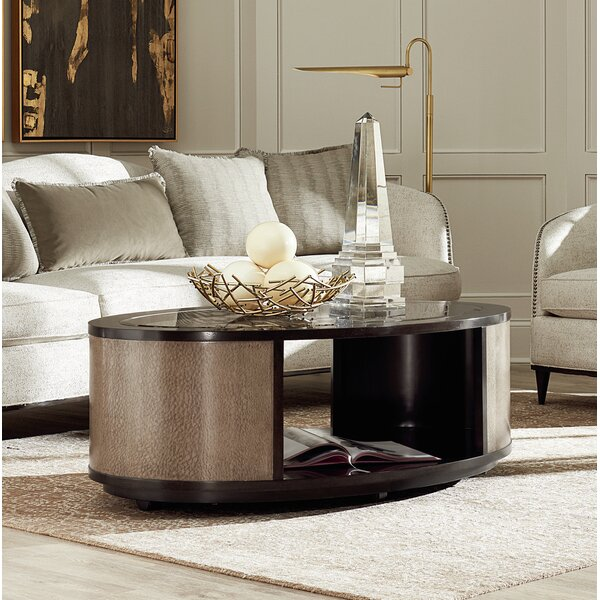 Coffee Table With Storage By Dowton Abbey