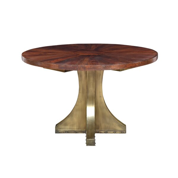 Goin Solid Wood Dining Table by Bloomsbury Market