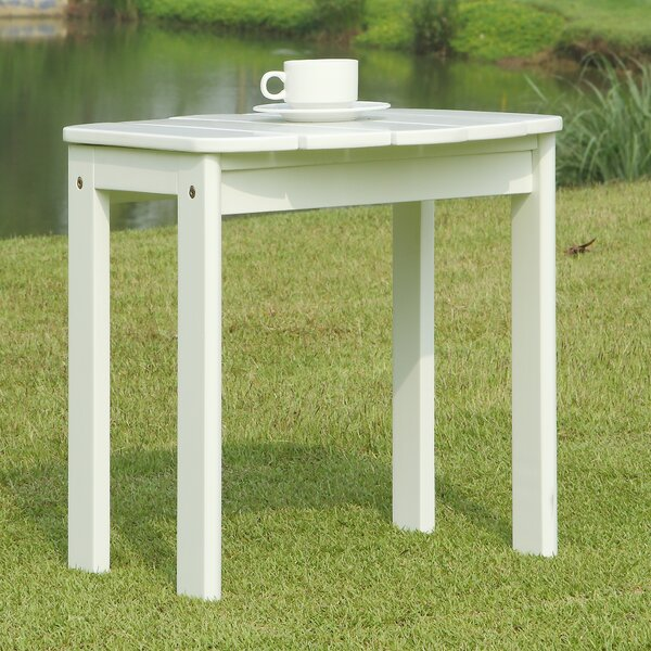 Lighthouse Cove Solid Wood  Side Table by Breakwater Bay
