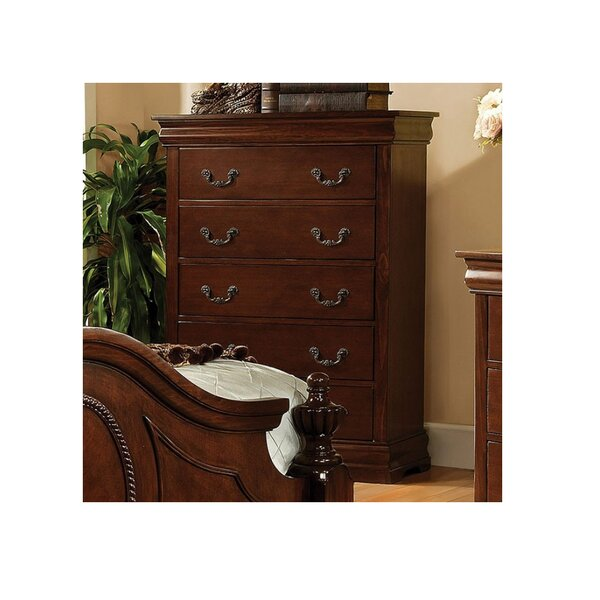 Nate 5 Drawer Chest by Astoria Grand
