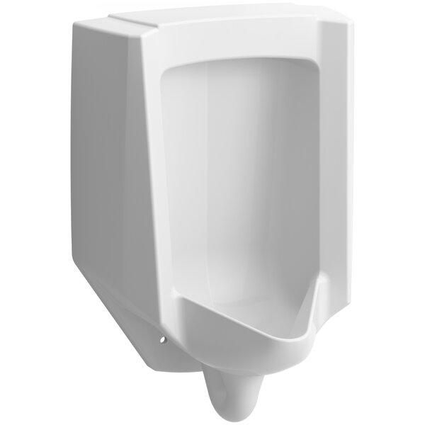 Bardon High-Efficiency Urinal (Heu), Washout, Wall-Hung, 0.13 gpf To 1 gpf, Rear Spud by Kohler
