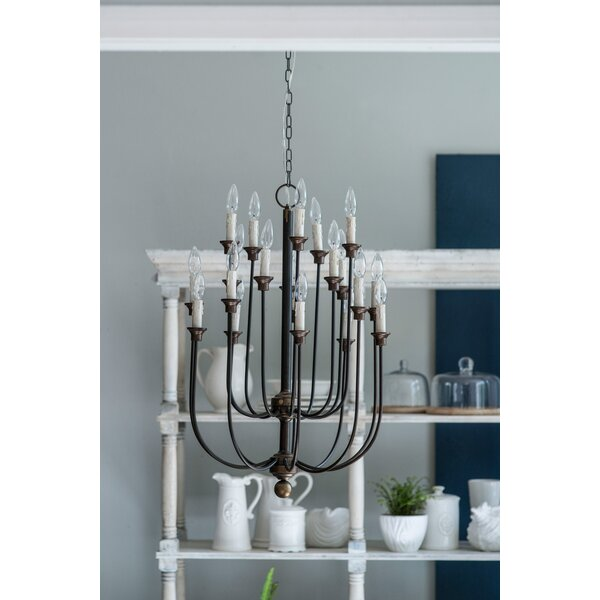 Padang 16-Light Chandelier by Gracie Oaks
