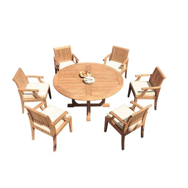 Kaan 7 Piece Teak Dining Set