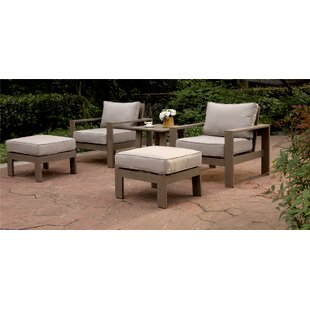 Otega 5 Piece 2 Person Seating Group with Cushion By Orren Ellis