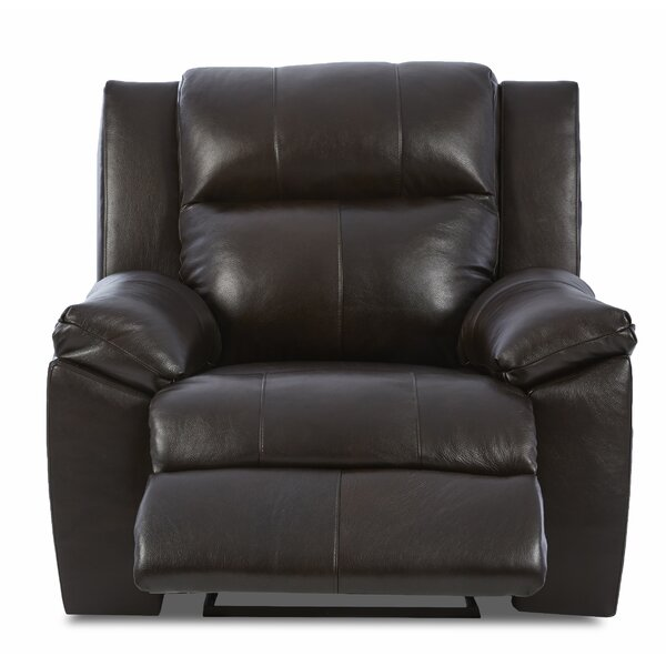 Ames Recliner with Headrest and Lumbar Support by Darby Home Co