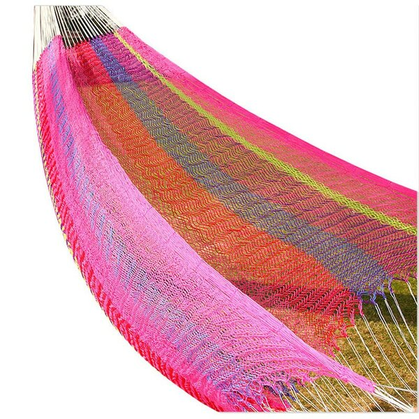 Lisa Double Tree Weaving Cotton Hammock by Freeport Park
