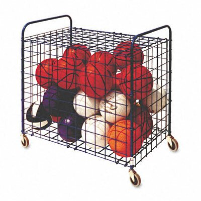 Champion Sports Lockable Ball Storage Cart by Cham