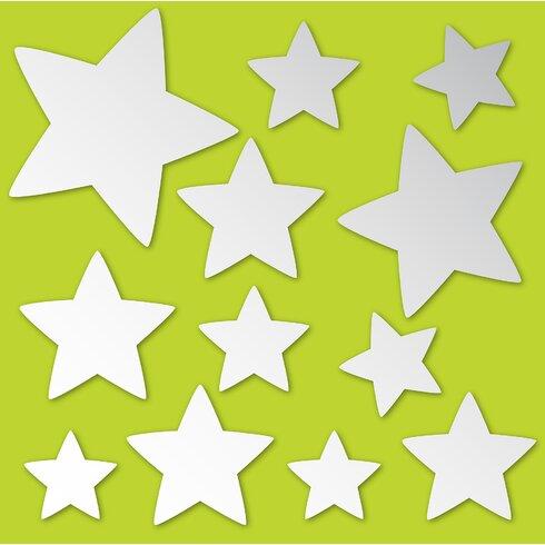 WallPops! WallPops Stars Mirror Wall Decal | Wayfair