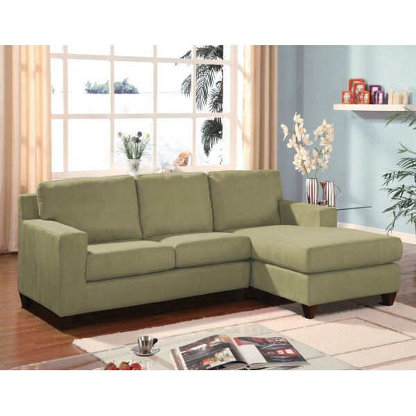 Hindman Reversible Sectional with Ottoman by Red Barrel Studio