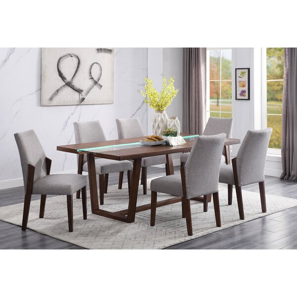 Samir 7 Piece Dining Set by Wrought Studio Wrought Studio
