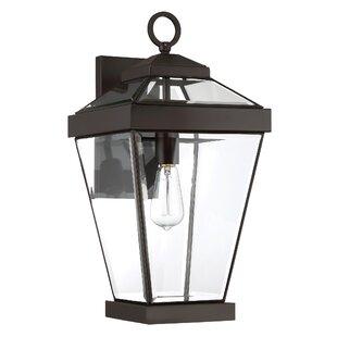 Big Save Lauren 1-Light Metal Outdoor Wall Lantern By Gracie Oaks