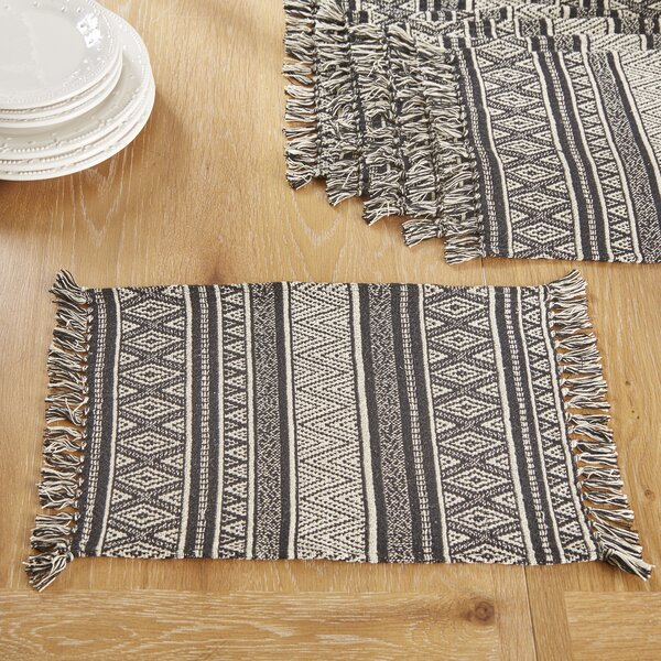 Castine Placemats (Set of 6) by Birch Lane™