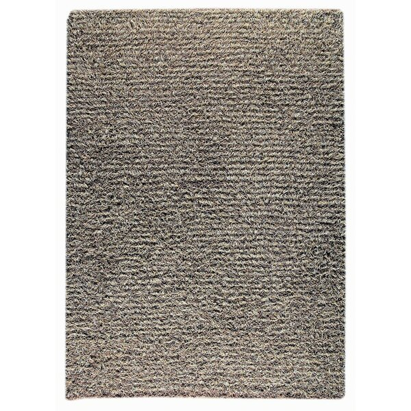 Hoglund Hand-Knotted Gray Area Rug by Red Barrel Studio