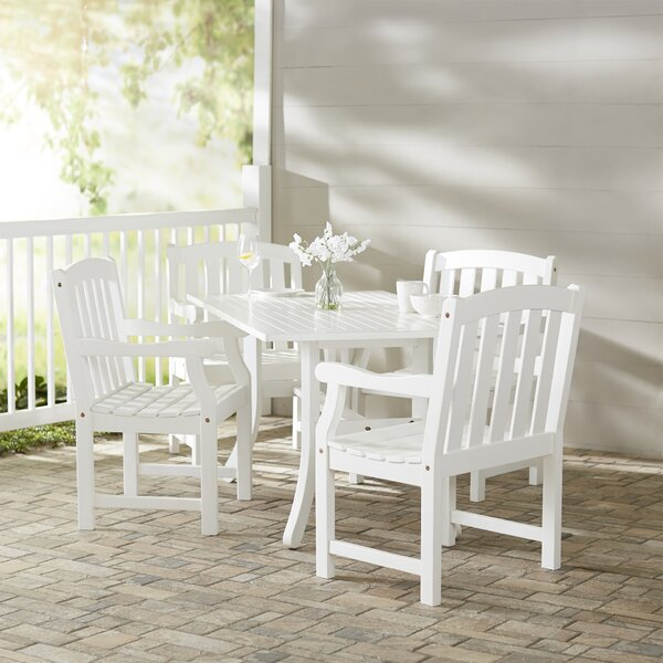 Mahler 5 Piece Dining Set by Darby Home Co