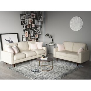 Macsen 2 Piece Standard Living Room Set by Wrought Studio™