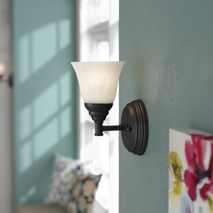 Compare Campton 1-Light Armed Sconce By Andover Mills