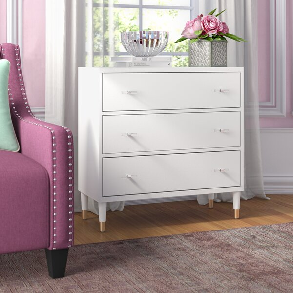 Tifton Modern 3 Drawer Accent Chest by Willa Arlo Interiors