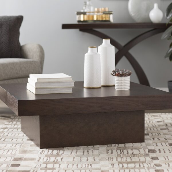 Benitez Coffee Table with Storage by Wade Logan