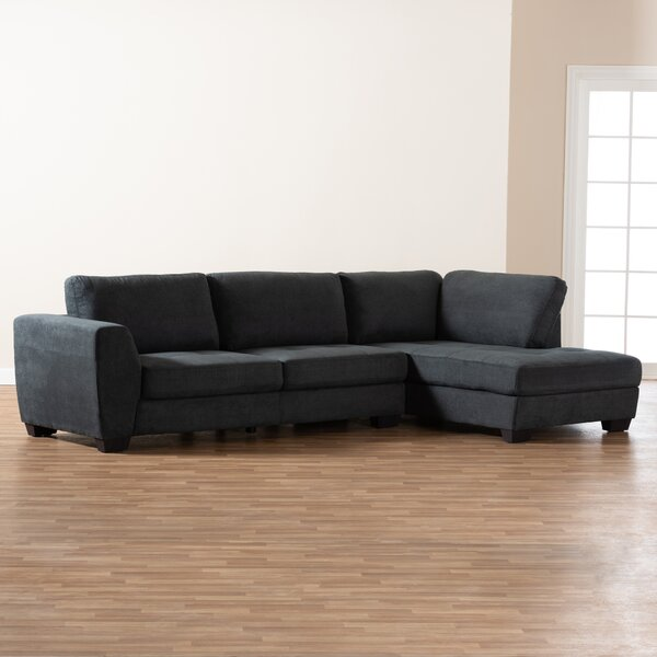 Nata Right Hand Facing Sectional By Wrought Studio