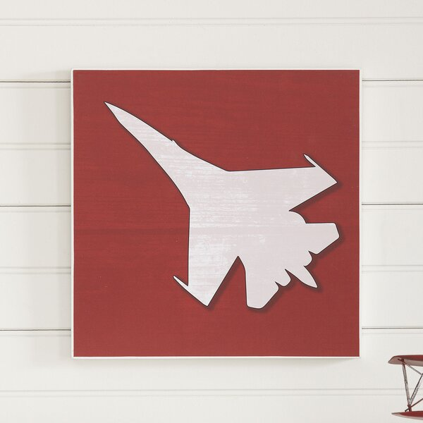 Fighter Jet Take Flight Wall Art by Birch Lane Kids™