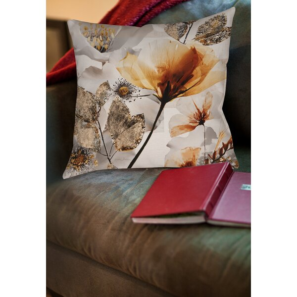 Happy Days Printed Throw Pillow by Manual Woodworkers & Weavers