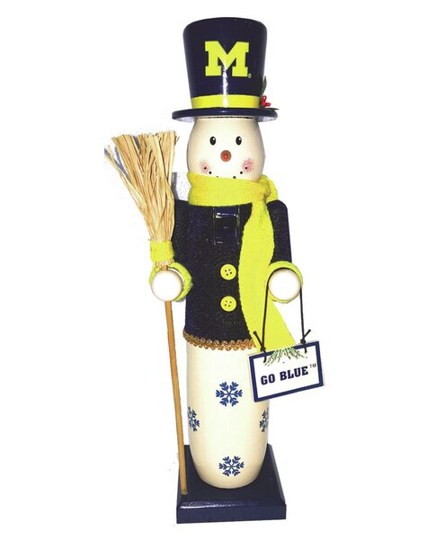 Michigan Snowman Nutcracker by Santa's Workshop