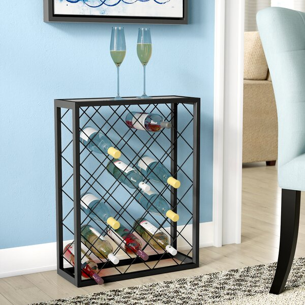 Fulford 32 Bottle Floor Wine Rack by Latitude Run