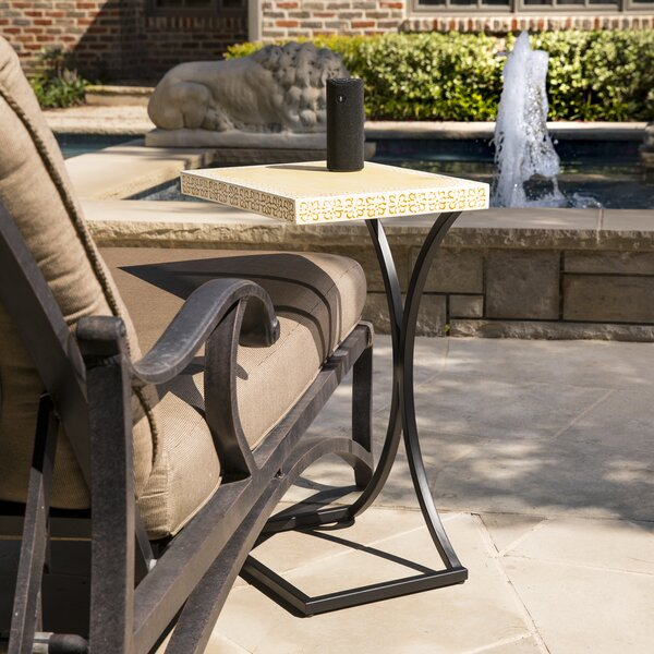 Sharen Indoor/Outdoor End Table By Ivy Bronx