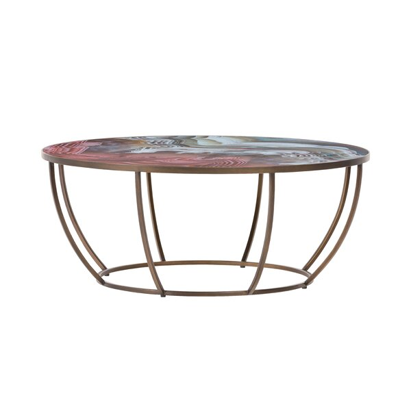 Impressionable Surfaces Coffee Table By Fairfield Chair