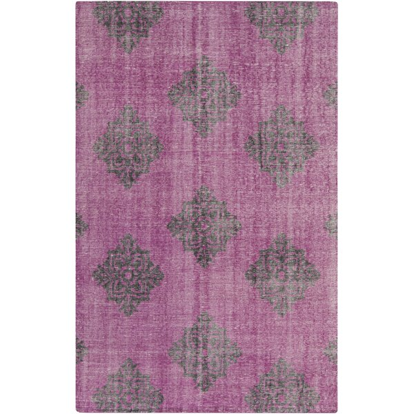 Ritesh Medallion Magenta Area Rug by Bungalow Rose