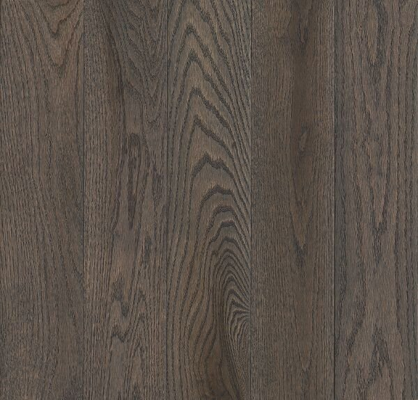 Prime Harvest 5 Solid Oak Hardwood Flooring in High Glossy Oceanside Gray by Armstrong Flooring
