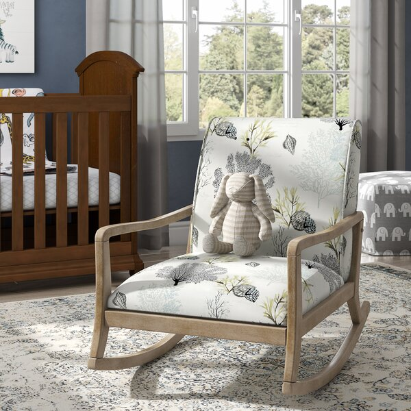 Brittnie Rocking Chair By Rosecliff Heights