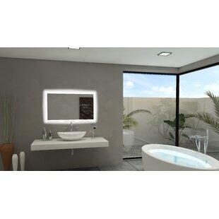 Best Reviews Rectangle Backlit Bathroom/Vanity Mirror ByParis Mirror